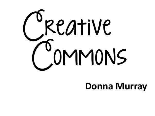CreativeCommonsDonna Murray
