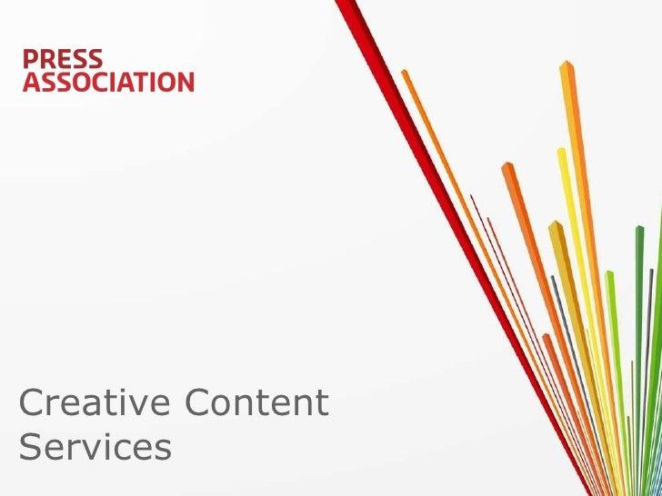 Creative Content  Services