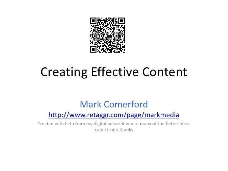 Creativecontentuclan