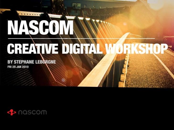 Creative digital workshop