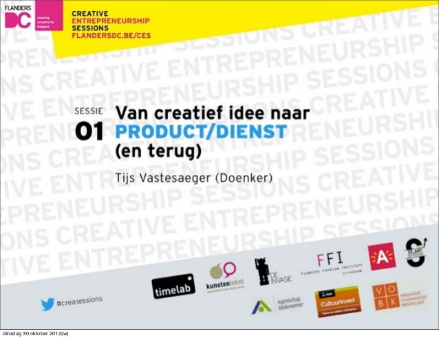 Creative entrepreneurship session N°1