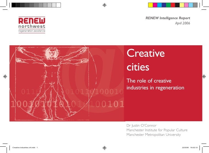 The role of creative industries in regeneration