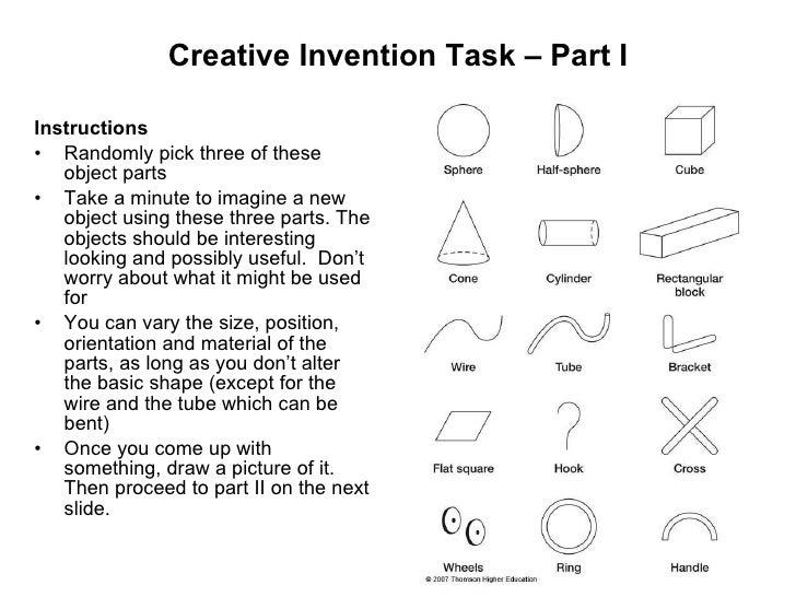 Creative Invention Task