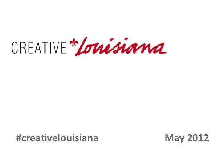Creative louisiana