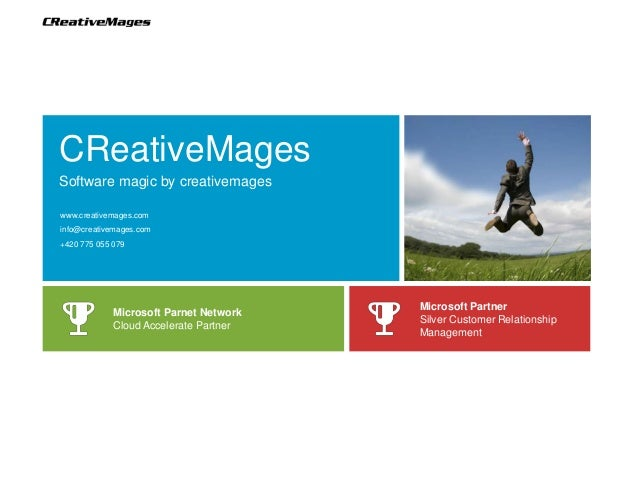 CReativeMagesSoftware magic by creativemageswww.creativemages.cominfo@creativemages.com+420 775 055 079                   ...