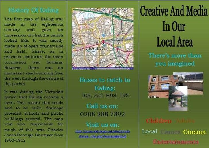 Creative & media in the local area - leaft