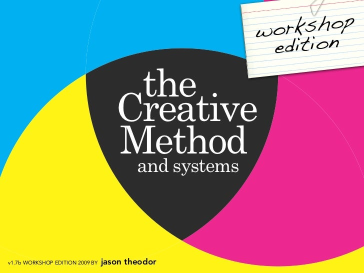Creative Method Workshop Edition