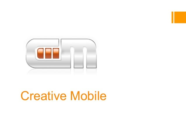 Creative MobileCompany introVladimir Funtikov, co-founder