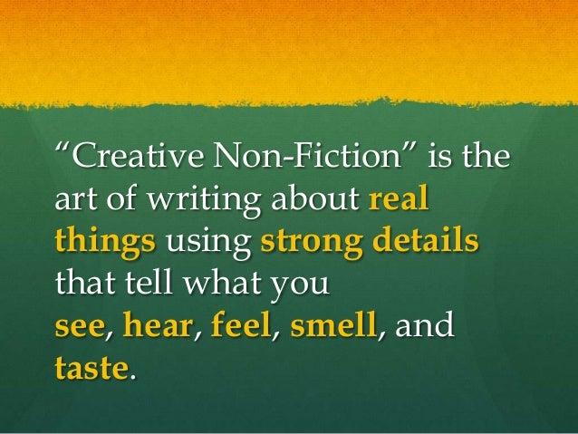 Non Fiction Creative Writing