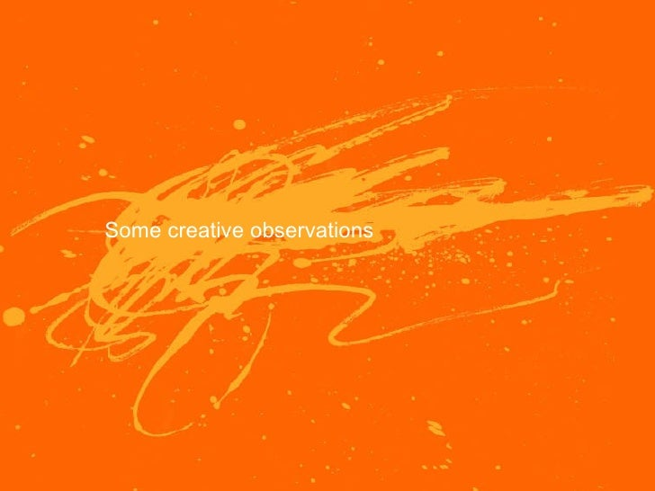 Creative Observations