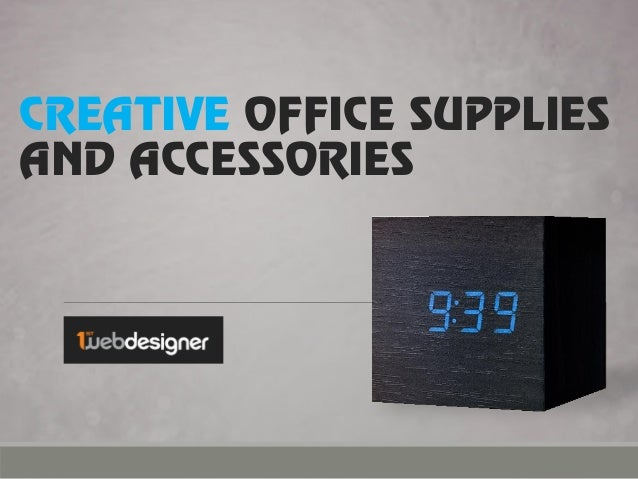 creative office supplies and accessories