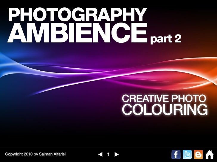 PHOTOGRAPHY AMBIENCE part 2                                        CREATIVE PHOTO                                        C...