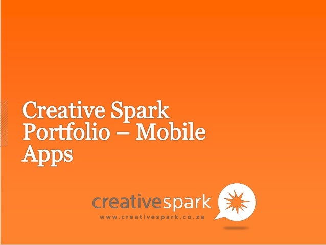 Creative spark   mobile app showcase