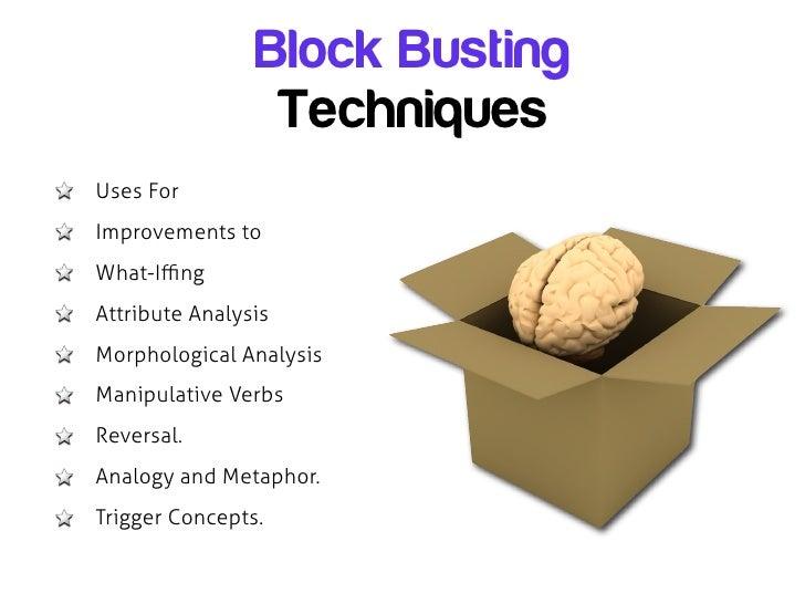 Innovative presentation techniques