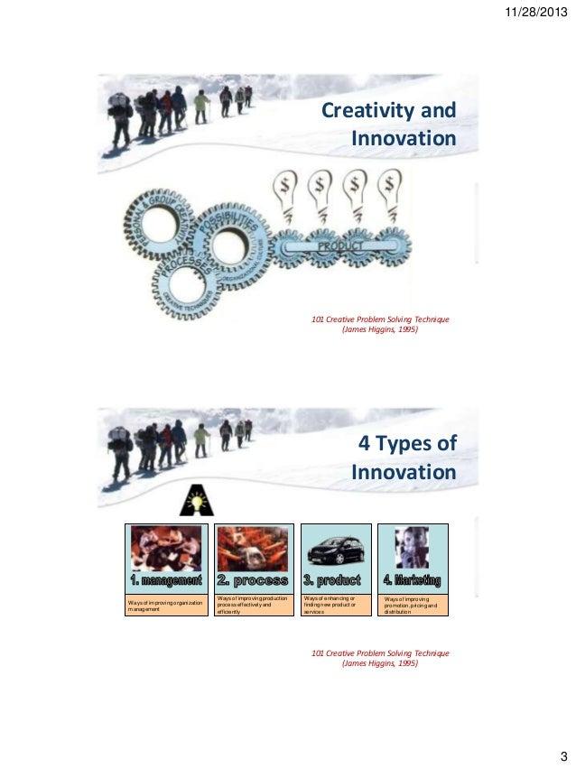 Creative Thinking Problem Solving