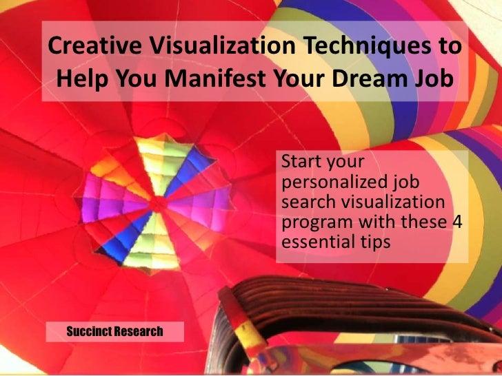 Creative visualization for_job_seekers