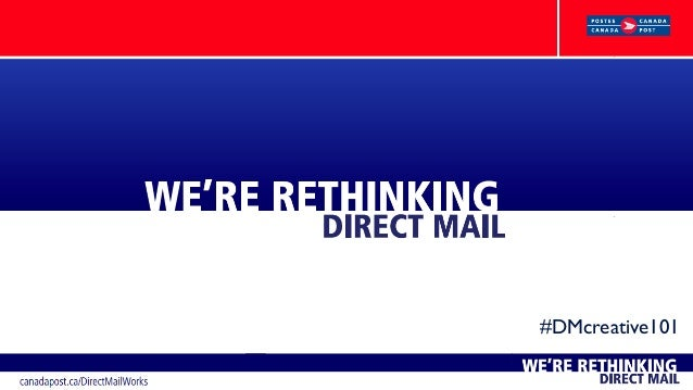 Direct Mail & Cross-Media Creative