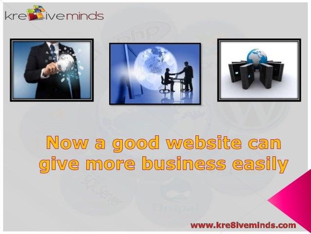 Creative Website Designing in India