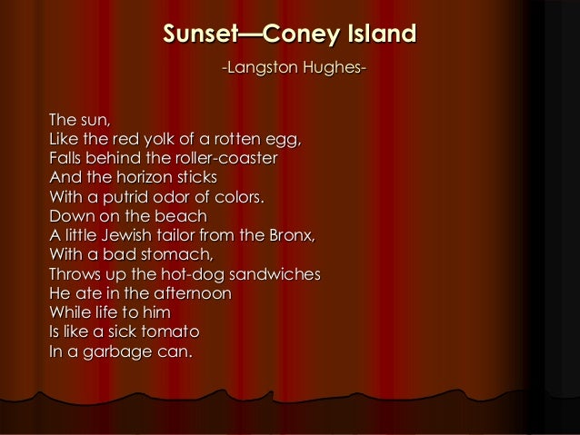 langston hughes use of poetry elements sludgeport240web