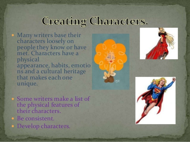 Creative Writing Character Description