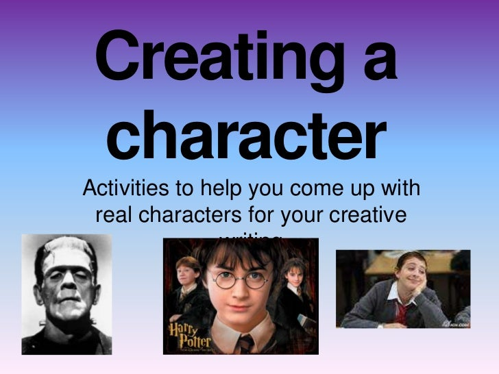 creative writing character essay Find and save ideas about character development writing on pinterest | see more ideas about writing characters writing prompts for writers writing tips writers help writing resources creative writing essay writing writing characters the bad what is conflict.