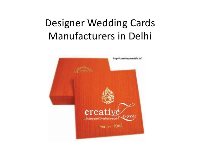 Wedding Cards Design in Delhi 2 Designer Wedding Cards