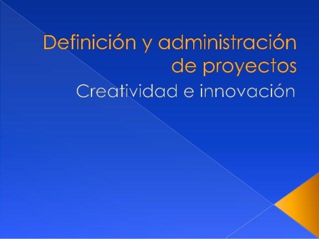 Creatividad ES UNA DINÁMICA DE TRABAJP