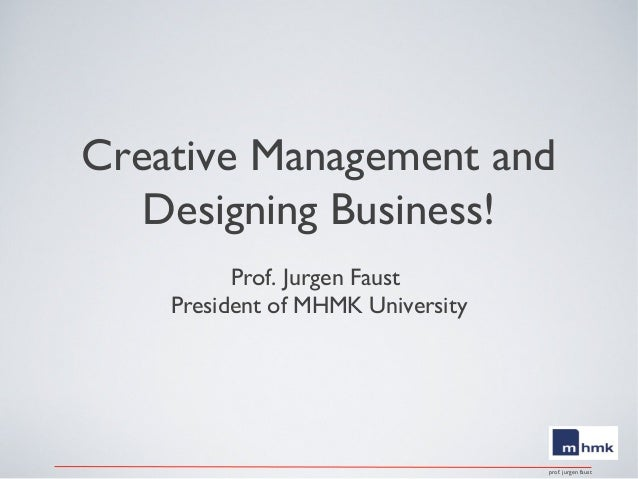 Creativie creative management and designing business