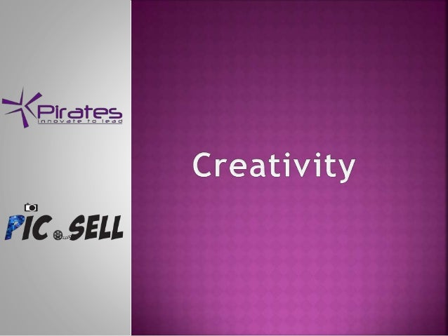 Creativity - Pic.Sell