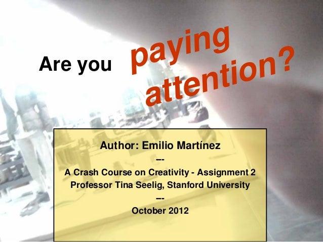 pa yingAre you                       tion?                 atten         Author: Emilio Martínez                       ---...