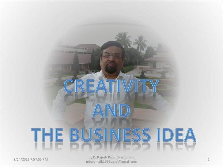 Creativity and business idea