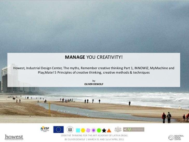Creativity part 2 @ Art Academy of Latvia (Riga) 2011