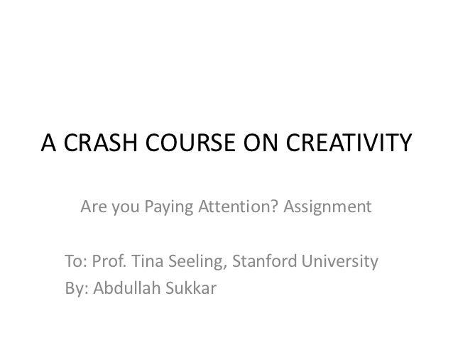 Creativity assignment 2