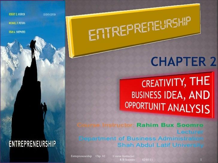 Creativity & business idea
