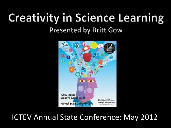 ICTEV Annual State Conference: May 2012