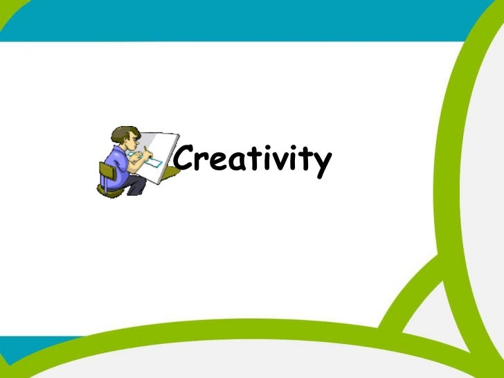 Creativity ppt mba