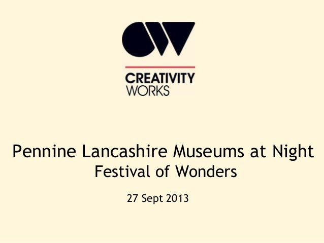 Elaine Lees from Creativity Works on creating a Museums at Night cluster