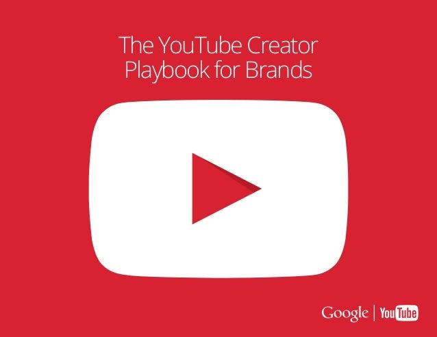 Creator playbook for brands