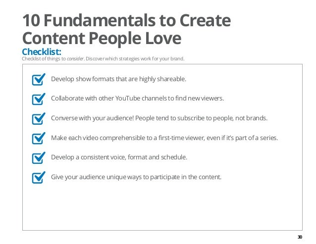 Creating Brands People Love Create Content People Love