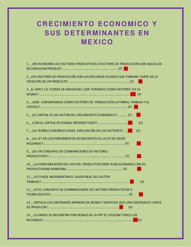 72390-137795CRECIMIENTO ECONOMICO Y SUS DETERMINANTES EN MEXICO0CRECIMIENTO ECONOMICO Y SUS DETERMINANTES EN MEXICO<br />1...
