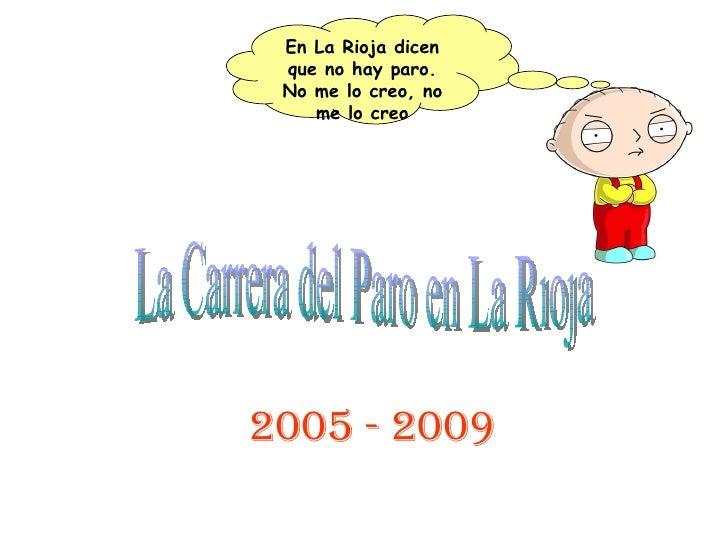 Crecimiento Del Paro en La Rioja