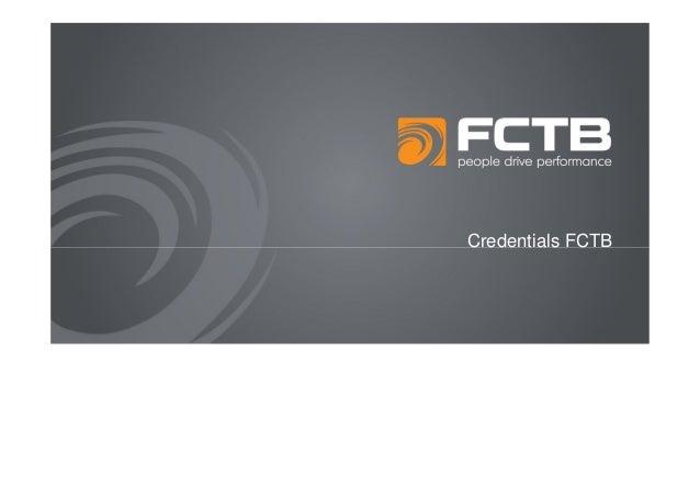 Credentials FCTB