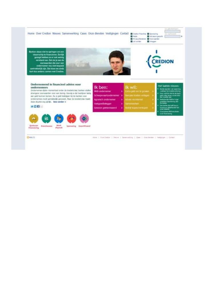TGJ Communicatie Credion webteksten