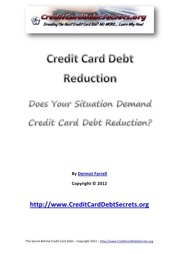 Credit card-debt-reduction