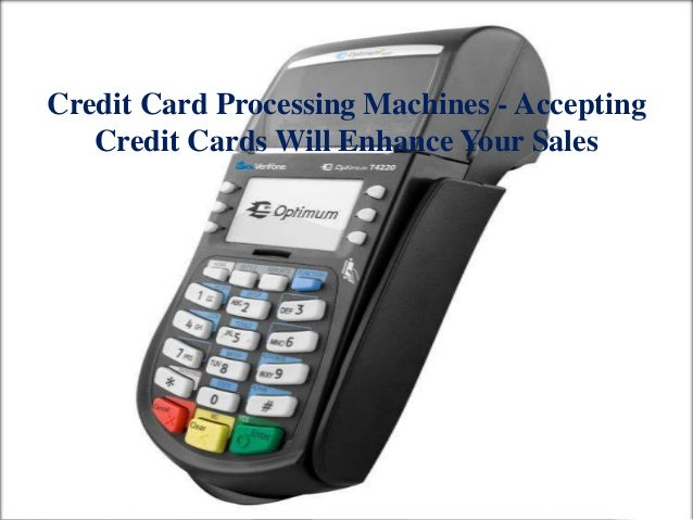 credit card machine sales