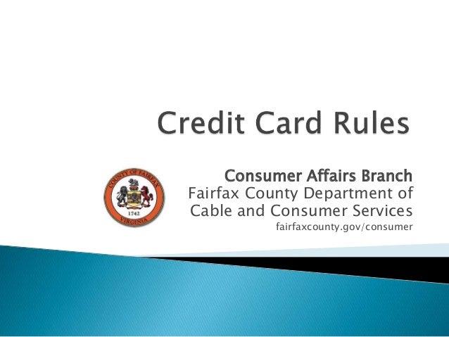 card rules