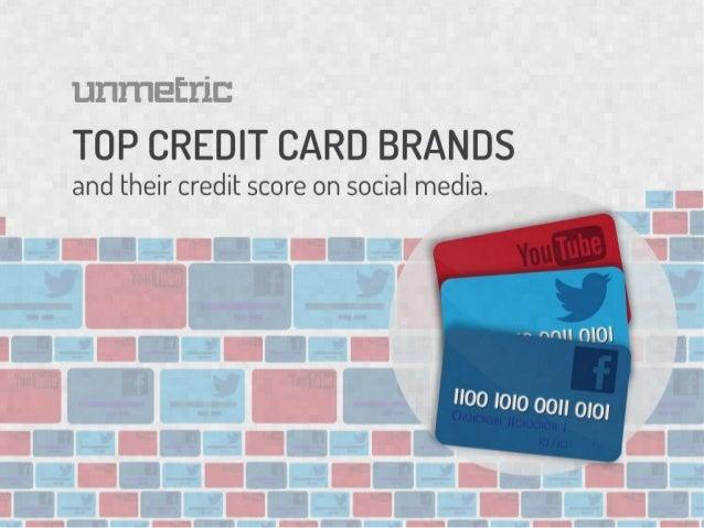 Credit Card Brands Get Their Social Media Credit Scores