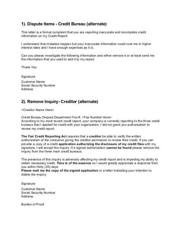 Dispute Letter To Creditor. Resume Sample Ideas Sample Resume For ...