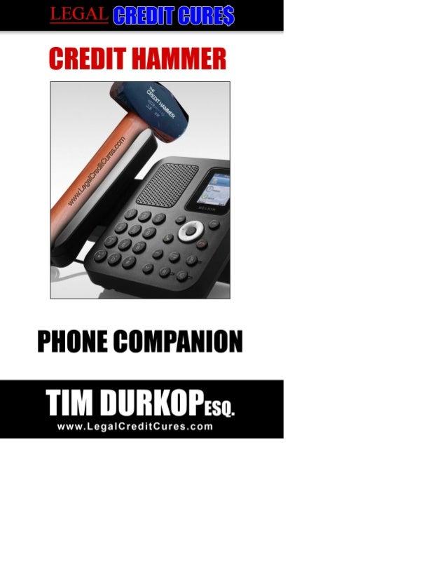 Credit Hammer Phone Companion