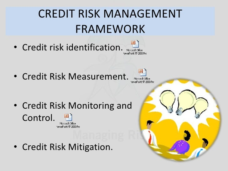 research papers on credit risk management Credit risk management (crm) practices in commercial banks 2 management.